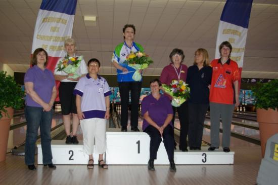 Finalistes et Podium V2 Dames